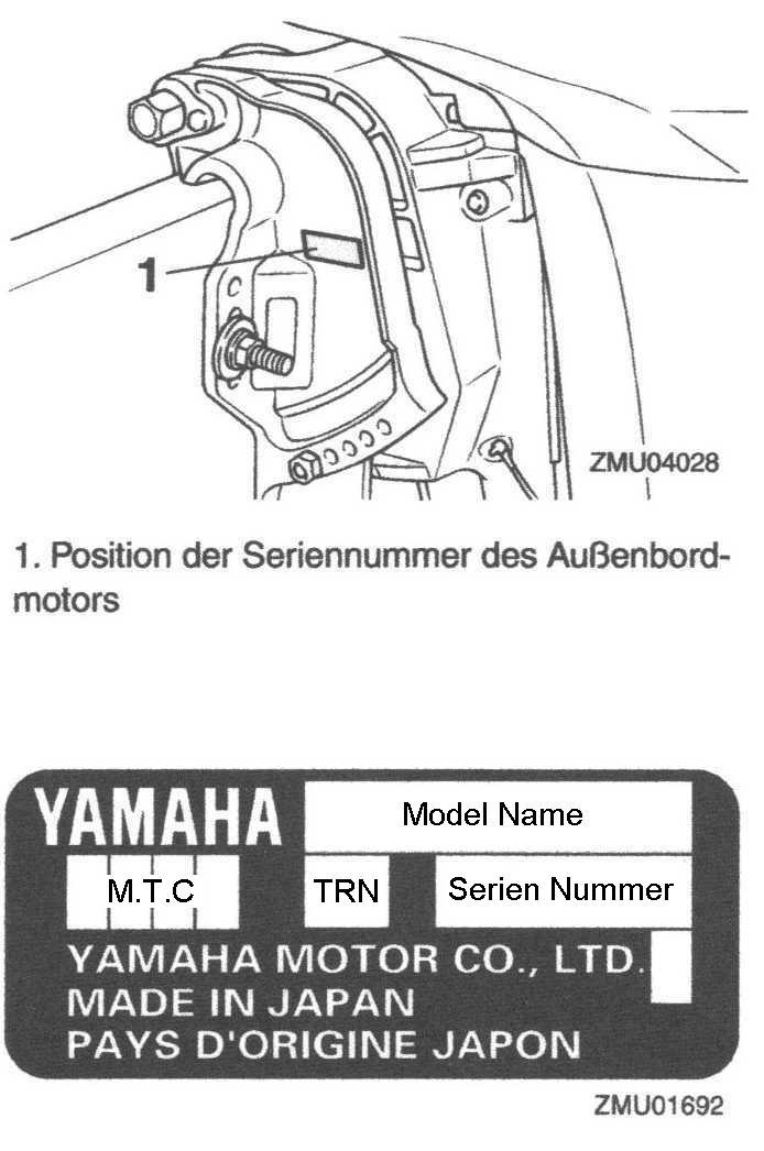 Yamaha Baujahrsliste